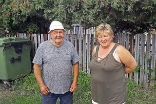 Polomčania Mária Chocholová a Ján Kalina