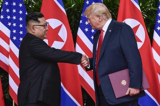 Trump opísal historické  stretnutie ako zo sci-fi filmu.