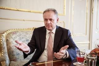 Andrej Kiska hovorí o začínajúcej prezidentskej kampani.