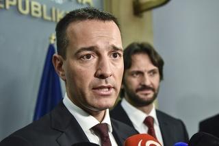 Tomáš Drucker sa stal ministrom vnútra.
