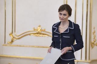 Nová ministerka zdravotníctva Andrea Kalavská