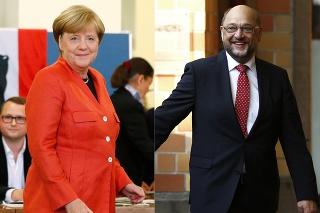 Nemecké televízie zverejnili predbežné výsledky volieb.