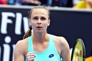 Magda Rybáriková sa teší z postupu do 2. kola.