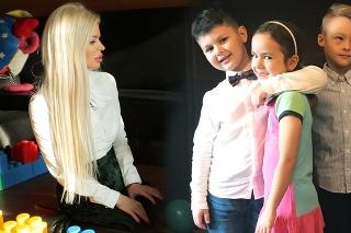 Oslava narodenín syna Silvie Kucherenko