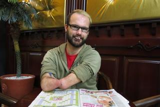 Martin Karen (31) je napriek svojmu hendikepu úplne sebestačný.