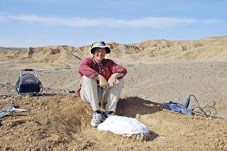 Martin bol kvôli pravekým jašterom aj v najväčšej ázijskej púšti Gobl.