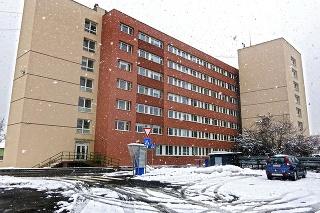 Budova humenskej nemocnice.