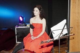 Lucia Šoralová zaspievala na krste aj pár pesničiek.