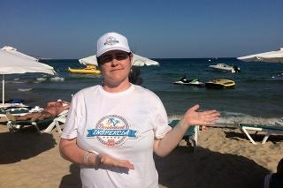 Martina dala dovolenke na Slnečnom pobreží 5 hviezdičiek.