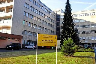 Kysucká nemocnica má spádovú oblasť až pre 120-tisíc obyvateľov.