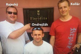 Boris Kollár na dovolenke s Ondrejčákom (Piťom) a Rajeckým.