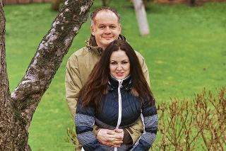 Budúci prezidentský pár Andrej (51) a Martina (38) Kiskovci.
