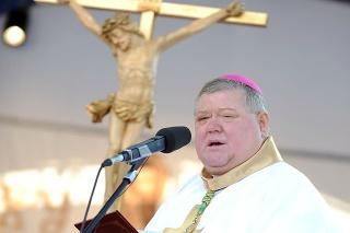 Nitriansky diecézny biskup Viliam Judák
