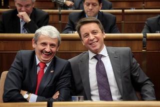 Mikuláš Dzurinda a Ivan Mikloš.