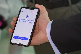Aplikácia smart karantény.