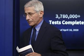 Americký expert na infekčné choroby Anthony Fauci