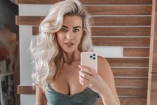 Modelka a moderátorka Mária Zelinová.