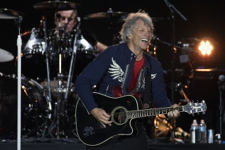 Americký spevák Jon Bon Jovi