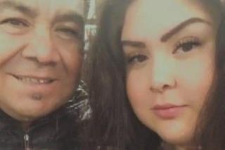 Silvia spolu s otcom.