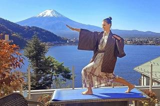 Fuji: Ingrid okúsila aj čaro najvyššej japonskej hory