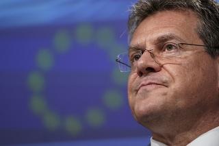 Podpredseda Európskej komisie pre medziinštitucionálne vzťahy a strategický výhľad Maroš Šefčovič