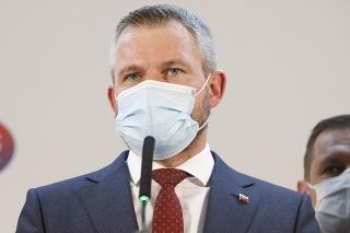 Predseda mimoparlamentnej strany Hlas-SD Peter Pellegrini