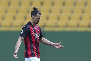 Zlatan Ibrahimovič po červenej karte
