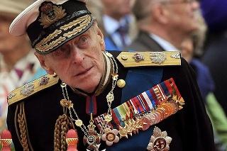 Britský princ Philip na archívnej snímke z roku 2012