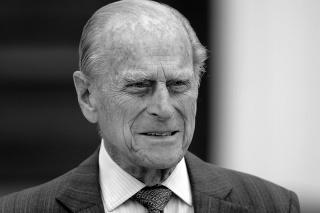 Britský princ Philip na archívnej snímke z roku 2015