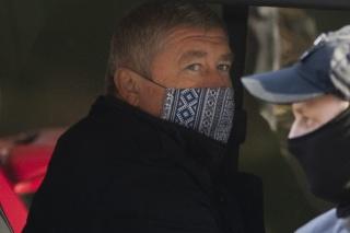 Na snímke špeciálny prokurátor Dušan Kováčik, ktorého zadržala NAKA v Bratislave.