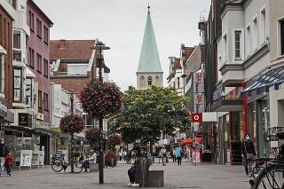 Nemecké mesto Hamm.