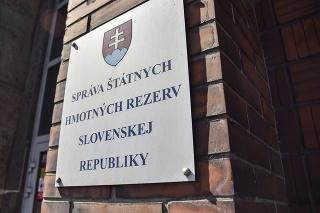 Budova Správy štátnych hmotných rezerv.
