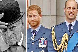 Princ Philip bol pre oboch vnukov veľkým vzorom.
