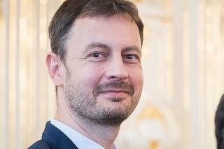 Budúci premiér Eduard Heger.