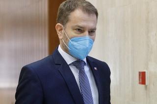 Slovenský premiér Igor Matovič (OĽANO)