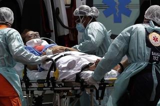 Situácia v brazílskych nemocniciach je stále kritická.