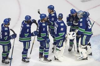 Hokejisti Canucks.