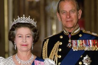 Princ Philip s kráľovnou Alžbetou II.