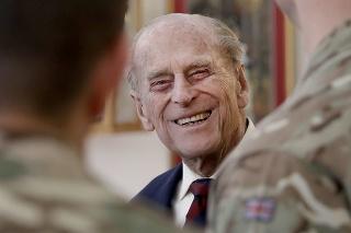 Princ Philip na archívnej snímke z marca 2017