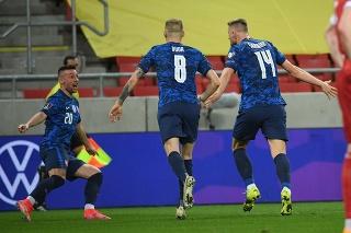 Kvalifikačný zápas H-skupiny MS2022 Slovensko - Rusko.