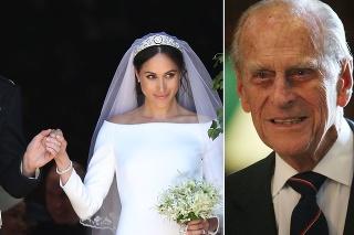 Princ Philip sa zúčastnil svadby Harryho a Meghan.