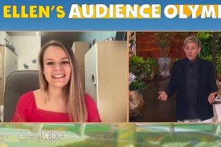 Slovenka Denisa zahviezdila v šou slávnej americkej komičky a moderátorky Ellen DeGeneres.