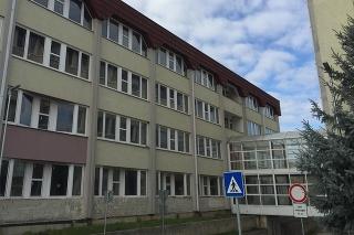Nemocnica v Žiari nad Hronom.