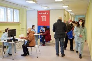 Krajské očkovacie centrum v Banskej Bystrici