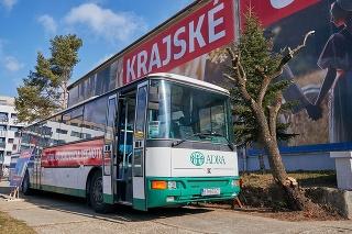 Banskobystrický kraj predstavil projekt očkovacích autobusov.