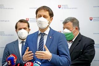 Minister Heger tvrdí, že ak dodržíme opatrenia príde uvoľňovanie.
