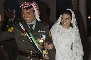 Jordánsky princ Hamza.