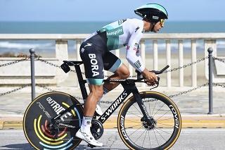 Sagan počas 7. etapy cyklistických pretekov Tirreno-Adriatico v individuálnej časovke.