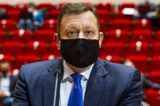Daniel Lipšic počas vypočutia pred Ústavnoprávnym výborom NR SR.