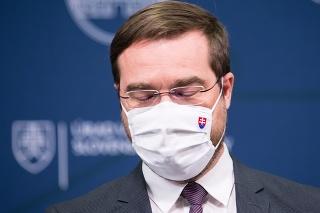 Odstupujúci minister zdravotníctva Marek Krajčí (OĽaNO)